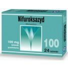Nifuroksazyd HASCO 100 mg x 24 tabl.