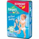 PAMPERS ACTIVE BABY EXTRA LARGE X 44 SZT