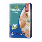 PAMPERS ACTIVE BABY JUMBO PACK MAXI X 70 SZT