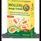 MOLLERS Omega-3 Rybki żelki x 36 żelek