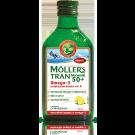 Tran norweski MOLLERS 50+ cytrynowy 250ml